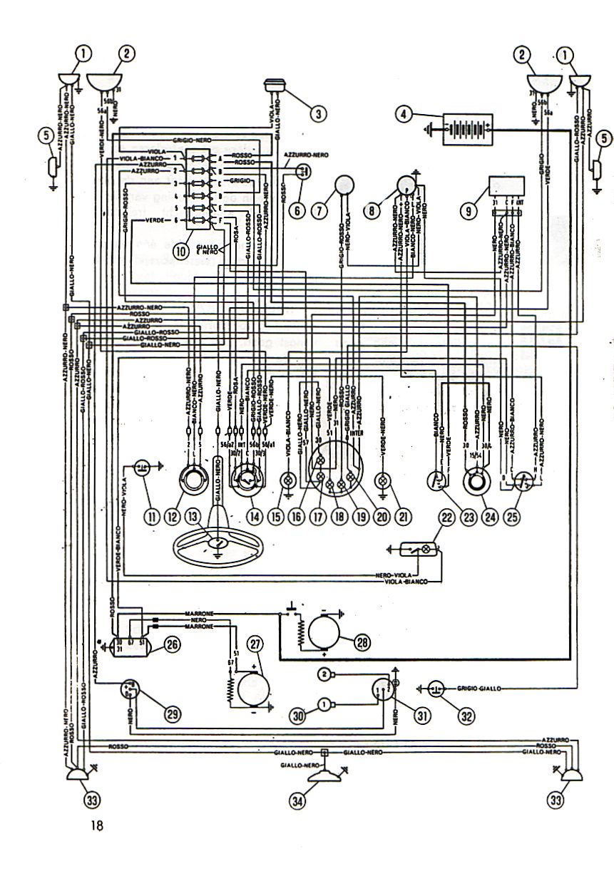 Fiat 500 Wiring Diagram Simple Diagrams Mercruiser Electrical System Schema 1969